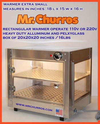 Mr churros warmers