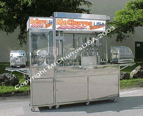 large churro machine