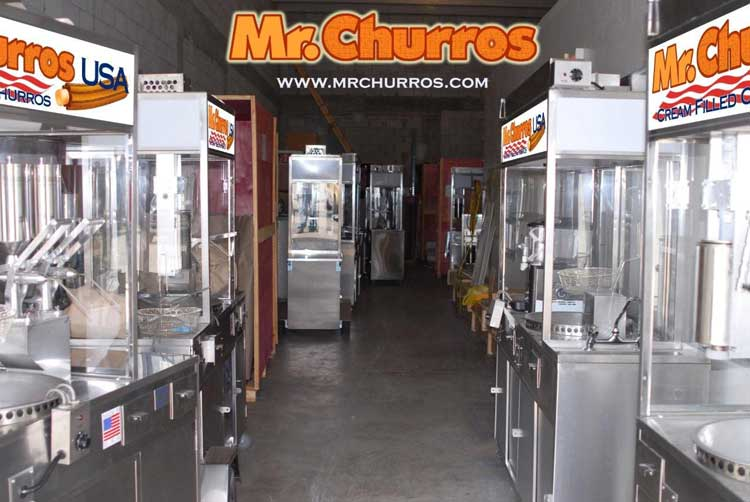 export churros manchines